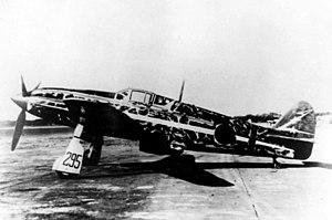 Kawasaki Ki-61 - Capt. Teruhiko Kobayashi's Ki-61 of the 244th Sentai