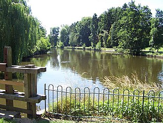 Solihull - The Lake, Brueton Park, Solihull