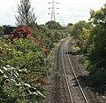 The Melksham service line heads south - geograph.org.uk - 1005635.jpg