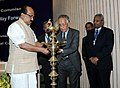 The Minister of State (Independent Charge) for Consumer Affairs, Food and Public Distribution, Professor K.V. Thomas lighting the lamp to inaugurate the celebrations of World Consumer Day, in New Delhi on March 15, 2012.jpg