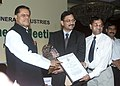 The Minister of State for Mines, Dr. T Subbarami Reddy presenting the Federation of Indian Mineral Industries (FIMI) Social Awareness and Excellence Awards 2005-06.in New Delhi on July 22, 2006 (1).jpg