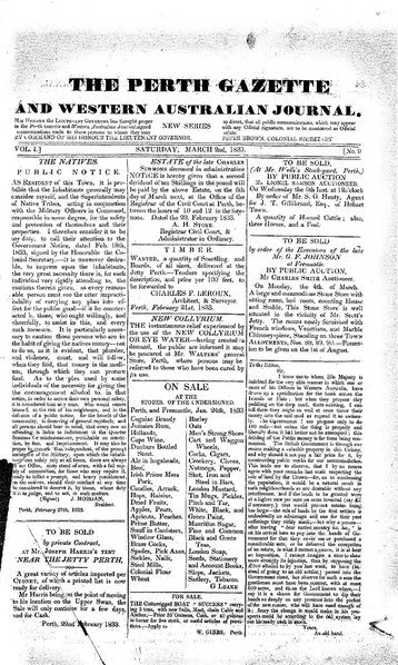 File:The Perth Gazette and Western Australian Journal 1(9).djvu