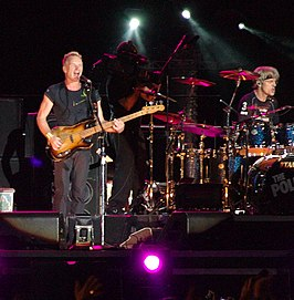 The Police live in Buenos Aires 2007.