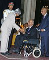 The President, Dr. A.P.J. Abdul Kalam presenting Padma Shri to Shri Anantharamakrishnan Sivasailam, at an Investiture-II Ceremony at Rashtrapati Bhavan in New Delhi on April 05, 2007.jpg