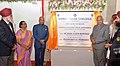 The President, Shri Ram Nath Kovind inaugurating the Guru Amar Das Block and Shaheed Baba Deep Singh Auditorium of Guru Nanak College, at Velachery, in Chennai.JPG
