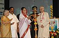 The President, Smt. Pratibha Devisingh Patil lighting the lamp to inaugurate the 'Centenary Celebrations and World Conclave of All India Ayurvedic Congress', in New Delhi on October 07, 2009.jpg