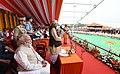 The Prime Minister, Shri Narendra Modi attending the swearing-in ceremony of Yogi Adityanath as Uttar Pradesh Chief Minister, at Lucknow, Uttar Pradesh.jpg
