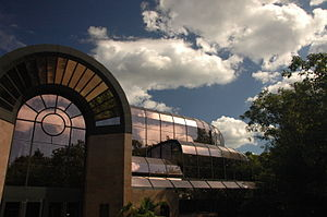 Cleveland Metroparks Zoo - RainForest building exterior