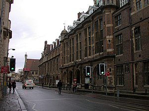 Downing Street, Cambridge - The Sedgwick Museum of Earth Sciences, on Downing Street.