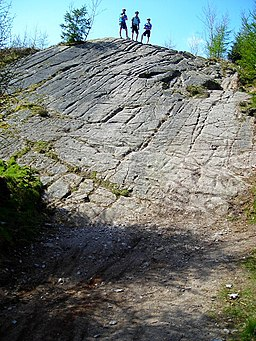 The Slab in Dalbeattie Forest - geograph.org.uk - 392848
