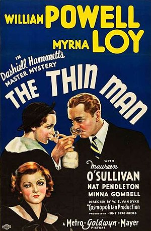 The Thin Man (film) - Theatrical release poster