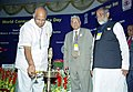 The Union Minister for Agriculture, Food and Civil Supplies, Consumer Affairs and Public Distribution, Shri Sharad Pawar lighting the lamp to inaugurate the World Consumer Rights Day in New Delhi on March 15, 2005.jpg