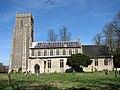 The church of St John the Baptist in Bressingham - geograph.org.uk - 1771766.jpg