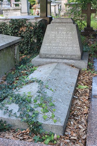 George Busk - The grave of George Busk, Kensal Green Cemetery
