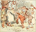 The lasses held the stakes - illustration by Randolph Caldecott - Project Gutenberg eText 18341.jpg