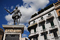 The monument to Don Juan of Austria (Don Giovanni d'Austria) (Square Catalani) Messina, Island of Sicily, Italy, Southern Europe.jpg