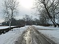 The snow road to Winwick - geograph.org.uk - 1154906.jpg