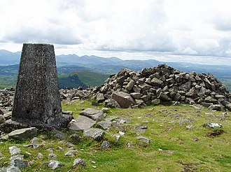 Slieve Croob - Image: The top of Slieve Croob geograph.org.uk 1406296