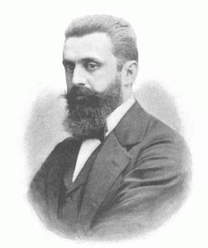 English: Theodor Herzl (1860–1904), Austro-Hun...