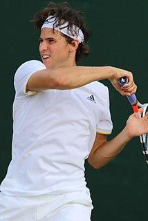 Dominic Thiem Austrian tennis player
