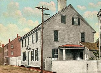 Thomas Bailey Aldrich - Thomas Bailey Aldrich House, part of Strawbery Banke Museum, Portsmouth, New Hampshire