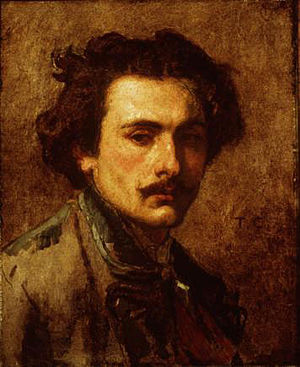 Thomas Couture - Thomas Couture, self-portrait