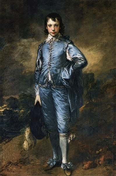 ファイル:Thomas Gainsborough - The Blue Boy (The Huntington Library, San Marino L. A.).jpg
