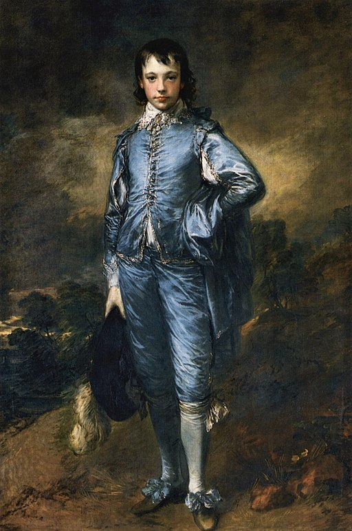 Thomas Gainsborough - The Blue Boy (The Huntington Library, San Marino L. A.)