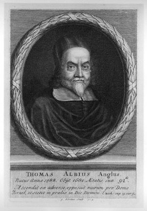 Thomas White (scholar) - Thomas White, 1713 engraving by George Vertue.