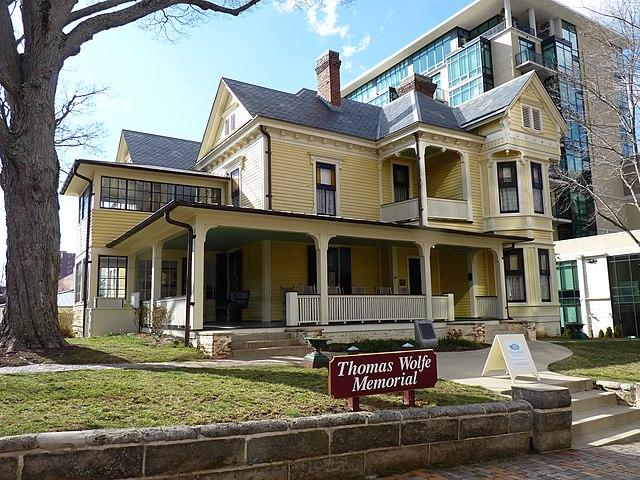 Thomas Wolfe House in Asheville, North Carolina