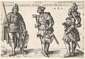 Three Worthy Christians- Charlemagne, King Arthur, and Geoffrey of Bouillon MET DP834175.jpg
