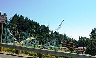 Thrill-Ville USA former amusement park in Turner, Oregon, United States