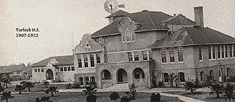Turlock High School - Image: Ths 1907