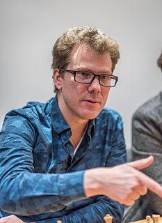 Tiger Hillarp Persson Swedish chess grandmaster (born 1970)