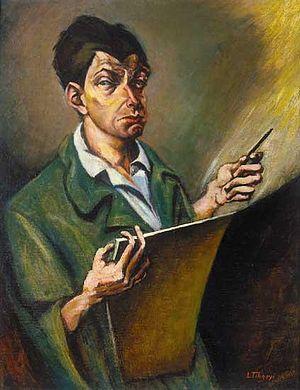 Lajos Tihanyi - Self-portrait (1920)