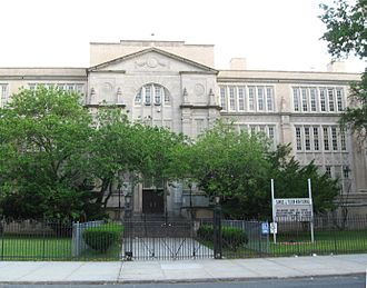 Samuel J. Tilden High School - From Tilden Avenue (north side)