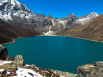 Gandaki Pradesh - Image: Tilicho Lake in Summer