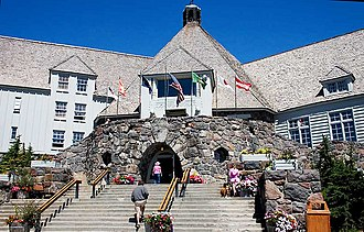 Timberline Lodge - Timberline Lodge in the summer of 2006
