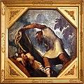 Tintoretto, tavole per un soffitto a palazzo pisani in san paterniano a venezia, 1541-42, priapo insidia lotide addormentata.jpg
