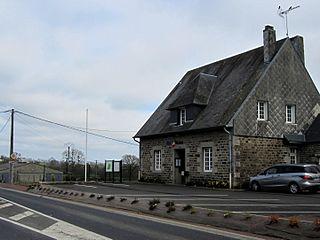 Tirepied-sur-Sée Commune in Normandy, France