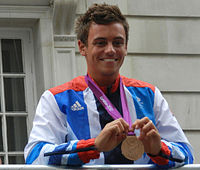 Tom Daley at the Olympic Victory Parade.JPG
