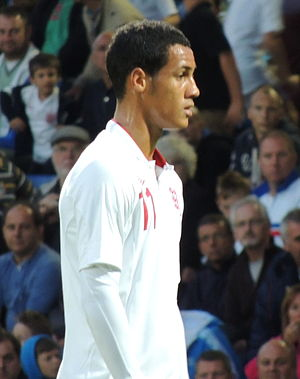 Tom Ince - Ince playing for England under-21 team in 2012