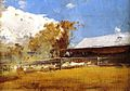 Tom Roberts, 1894 - Shearing Shed, Newstead.jpg