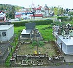 Tomb of Kazimierz and Maria Sulimierski at Central Cemetery in Sanok 1.jpg