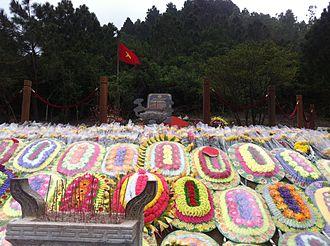 Võ Nguyên Giáp - Tomb of Võ Nguyên Giáp in Quảng Bình Province