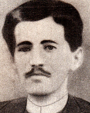 Anton Bacalbașa - Photograph of Bacalbașa, ca. 1890
