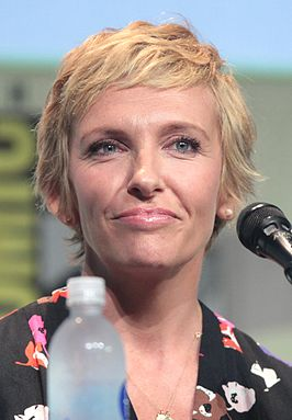 Toni Collette tijdens Comic Con, juli 2015.