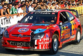 Toni Gardemeister - Gardemeister with a Citroën Xsara WRC at the 2006 Cyprus Rally.