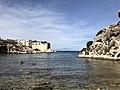 Tonnara Santa Panagia dal mare.jpg