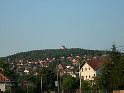 Topola with Oplenac at its hilltop